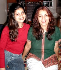 with Nicolitta Pereira in 2001