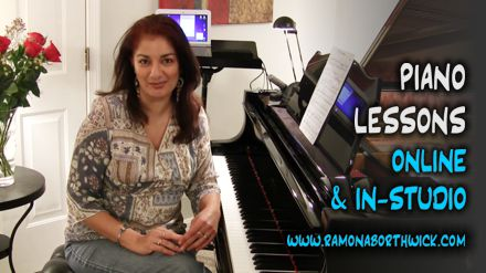 Piano Lessons Online and at the Leitmotif Studio